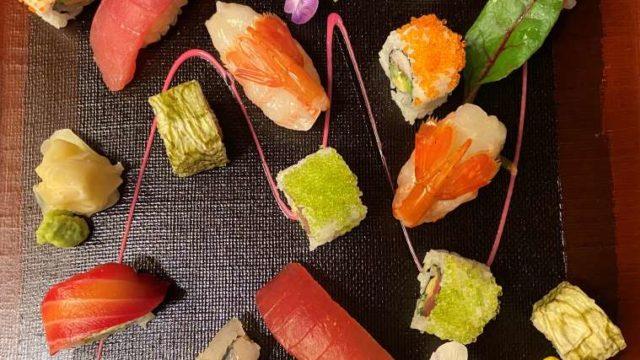 東京マリオットホテルのお寿司