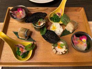 東京マリオットホテル和食レストランの前菜