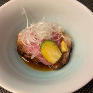 東京マリオットホテル和食レストランの煮物