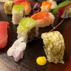 東京マリオットホテル和食レストランのお寿司