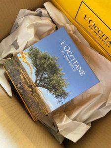 ロクシタンのプレゼント包装