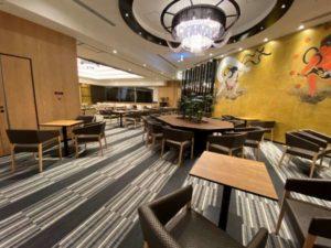 アパホテル両国の飲食スペース