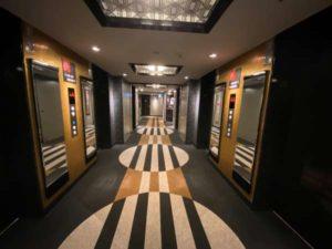 アパホテル両国のエレベーター