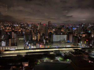 アパホテル両国からの夜景